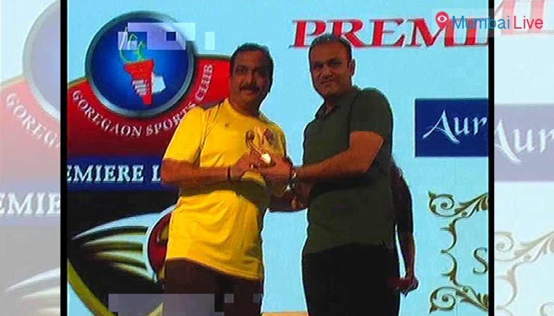 Sehwag inaugurated the cricket league