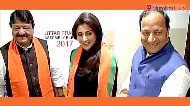 बॉलिवूड अभिनेत्री रिमी सेनचा भाजपात प्रवेश