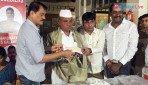 MLA Prakash Surve helps martyr soldiers' kin