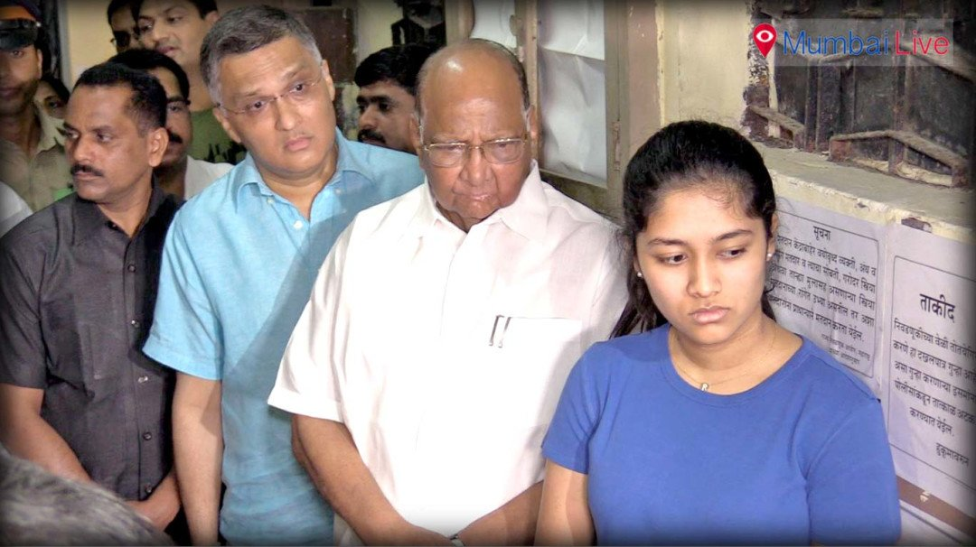 Who bagged Sharad Pawar's vote?