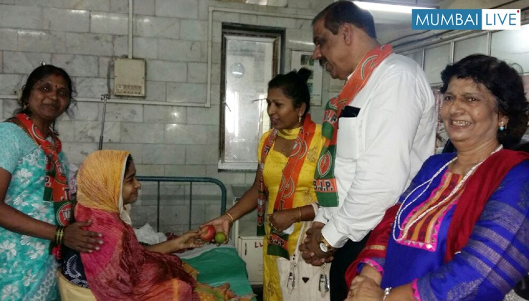 Fruit Distribution in Shatabdi Hospital
