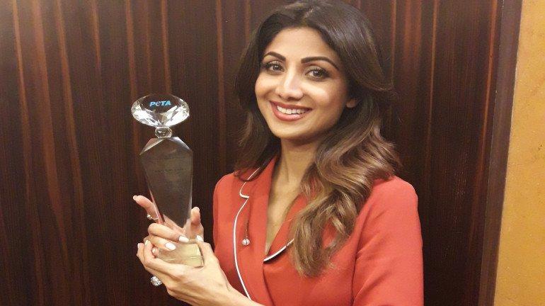 Shilpa Shetty Kundra honoured with PETA India's 'Hero to animals' award