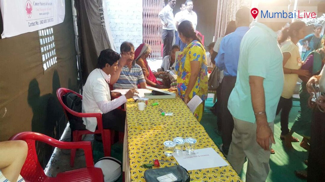 Health camp organized at Chembur