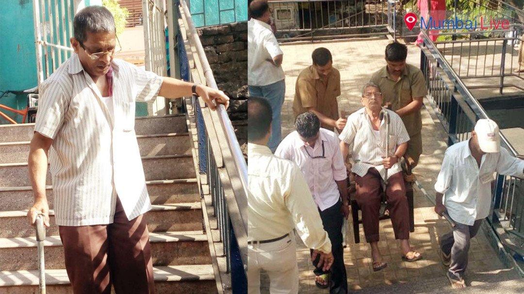 मतदान के लिए अपना कर्तव्य निभा रहे मनपा कर्मी