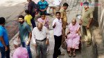 Civic officials help senior citizens cast vote