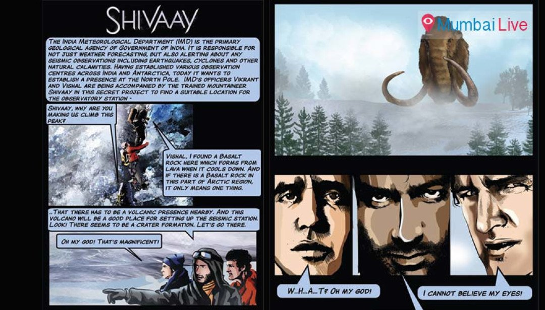 Shivaay - get the comic book before the film