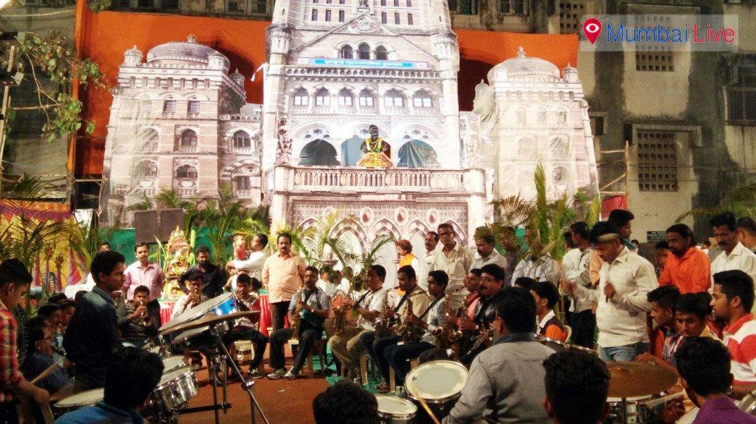 Pimpleshwar mandal celebrates Shiv Jayanti in BMC