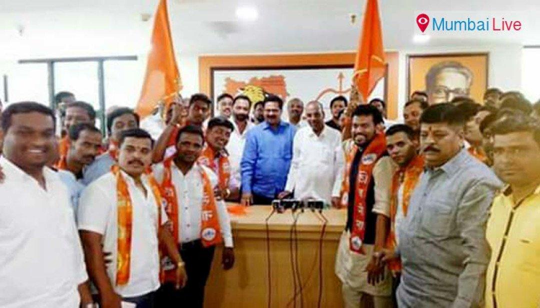 Sandip Tatkare joins Sena, jolt to Tatkares in NCP
