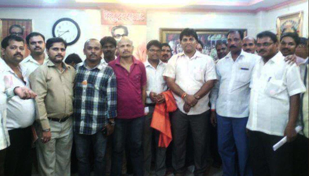 Shivsena meeting at Jogeshwari
