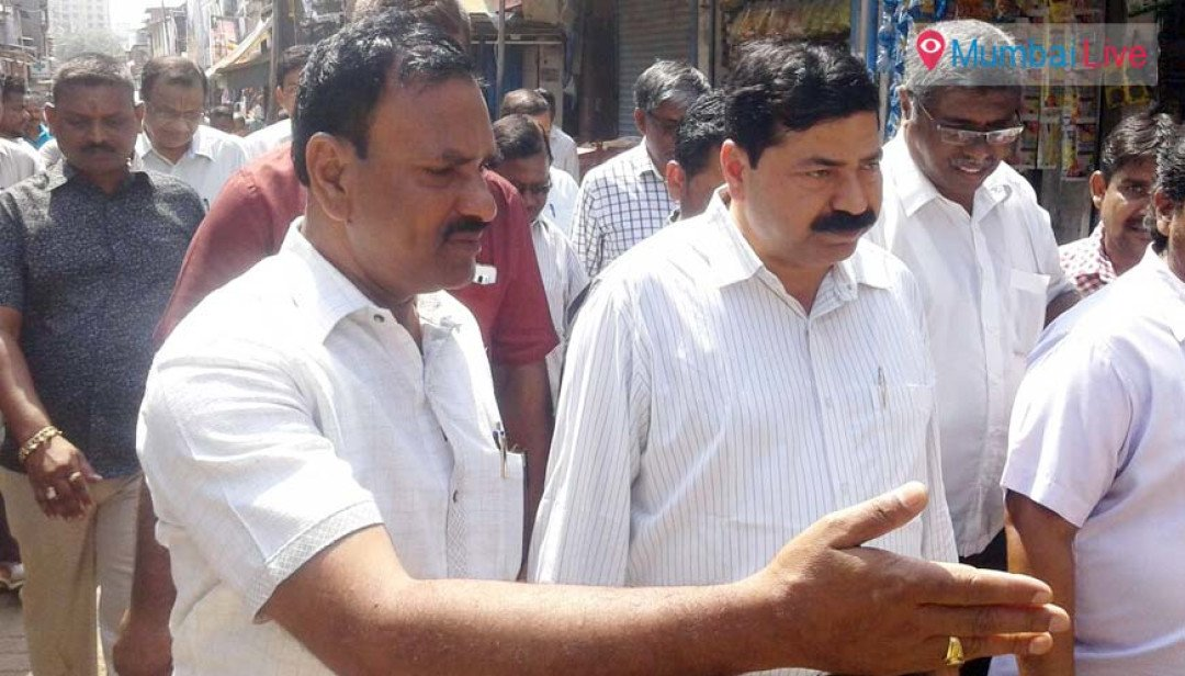 Civic officials visit dengue-hit Siddharth Colony