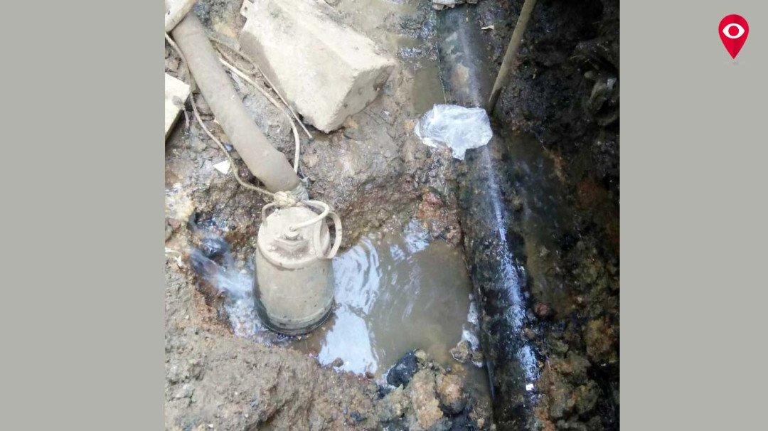 प्रतिक्षानगरमध्ये 10 महिन्यांपासून होतेय पाणी गळती!