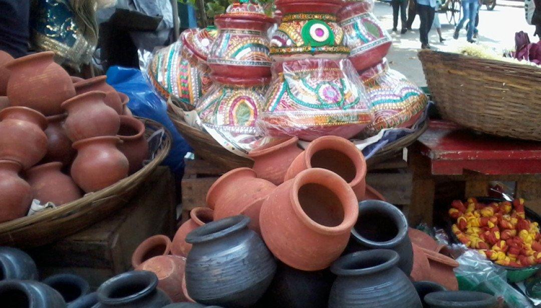 Market set for Navratri