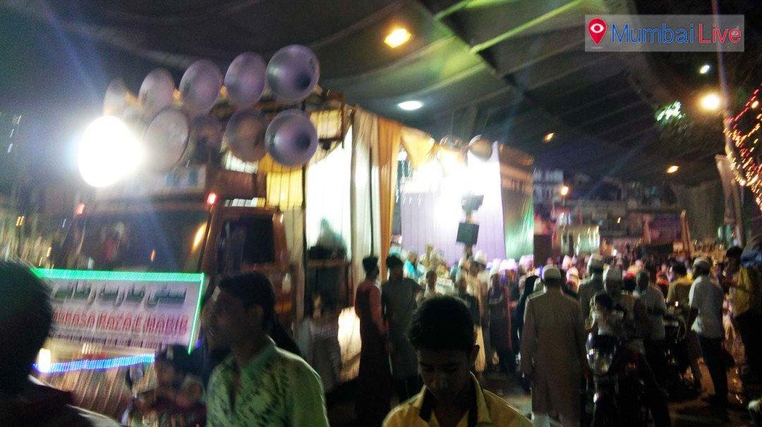 भेंडीबाजारमध्ये 'ईद-ए-गौसिया'चा उत्साह