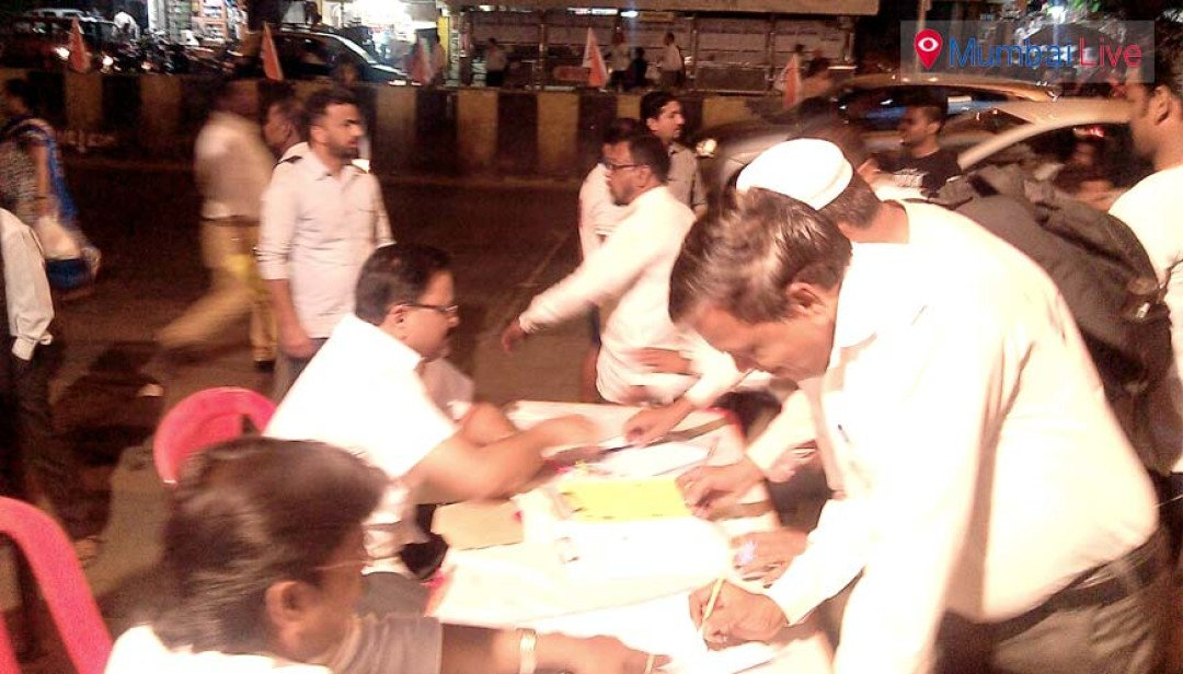 NCP's signature drive against mishap