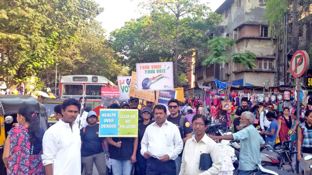 Rally held to aware electorates