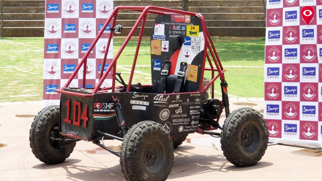 K J Somaiya college wins national level BAJA SAEINDIA competition