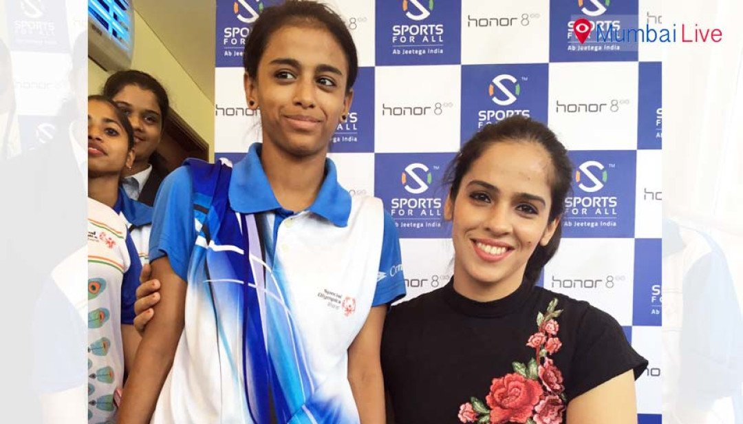 Saina Nehwal brings light in Afreen's life