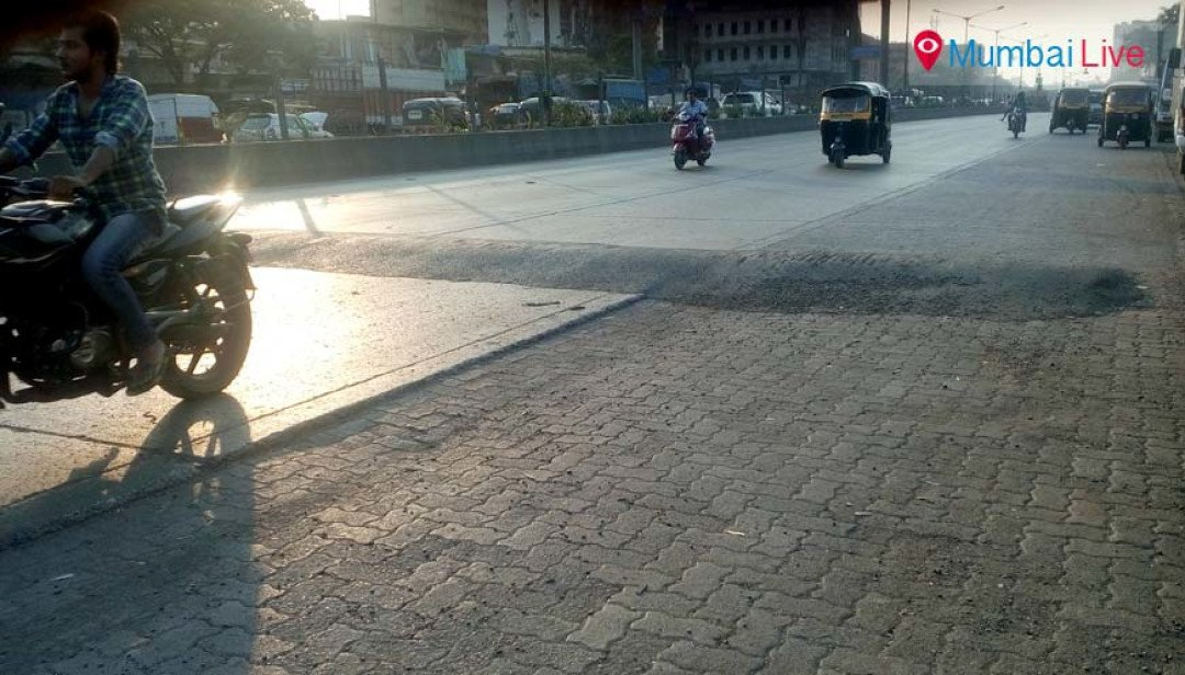 Mumbai Live Impact: Speed breakers erected