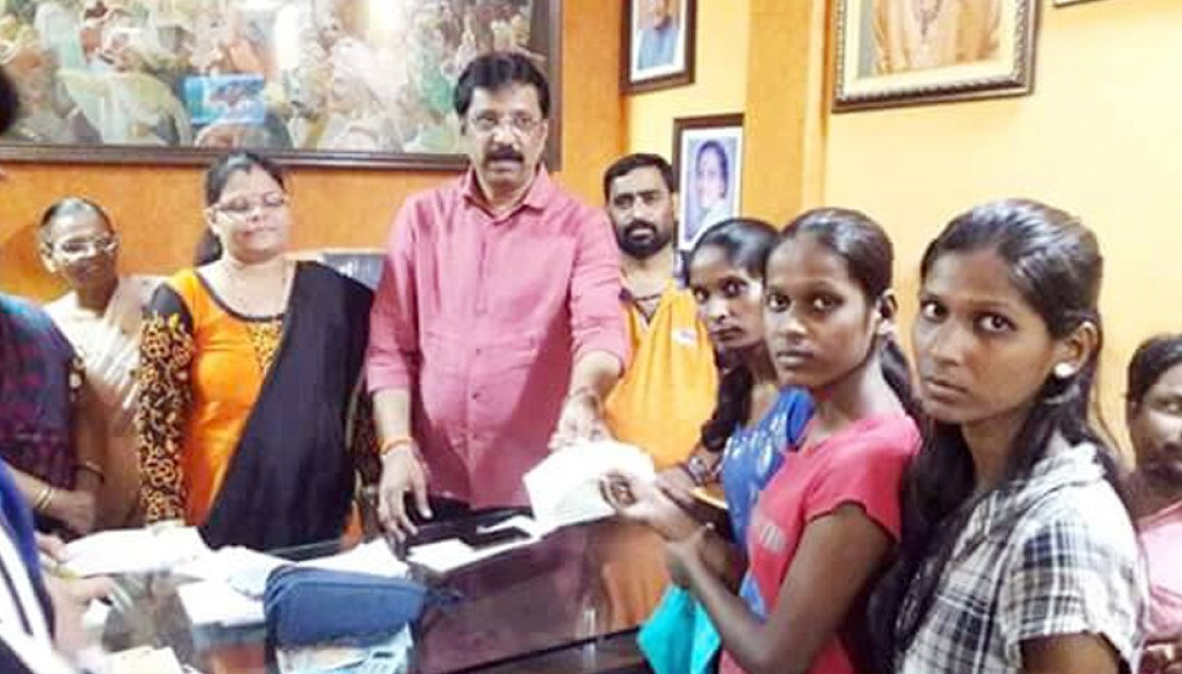 SS gives financial aid to students