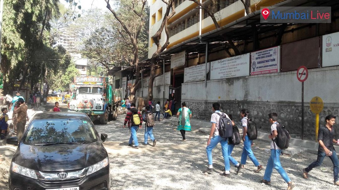 Road construction troubles commuters and school kids