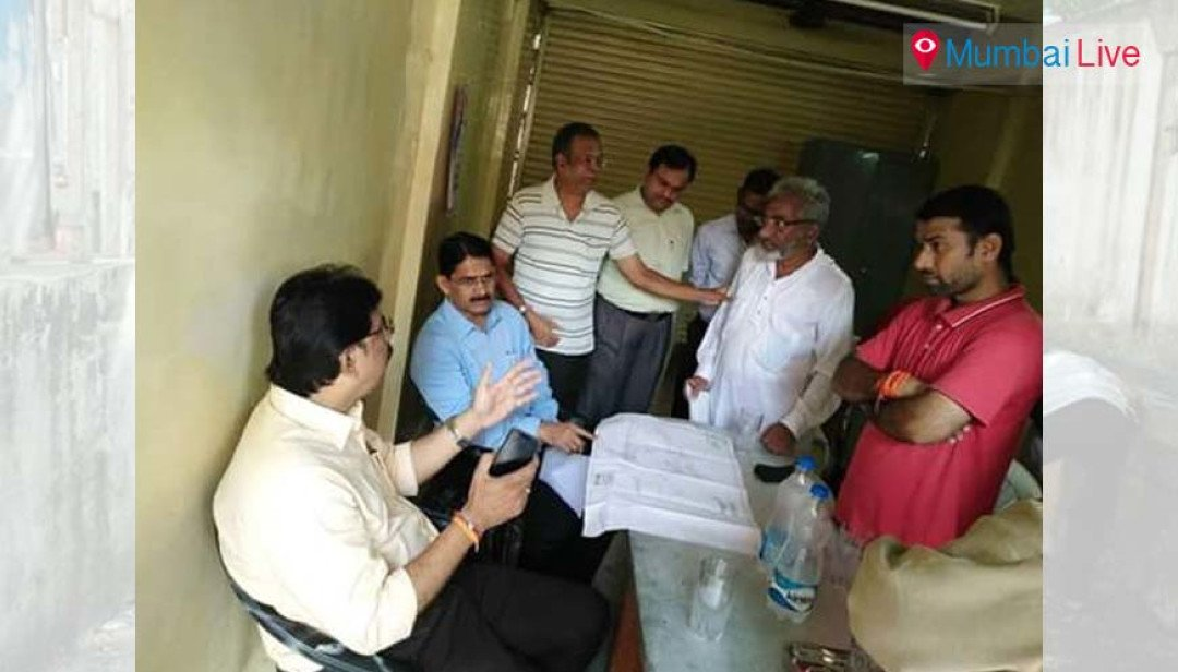 MLA helps out Worli's distraught residents