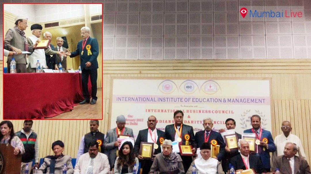 Capt. Suresh Vanjari felicitated in the event