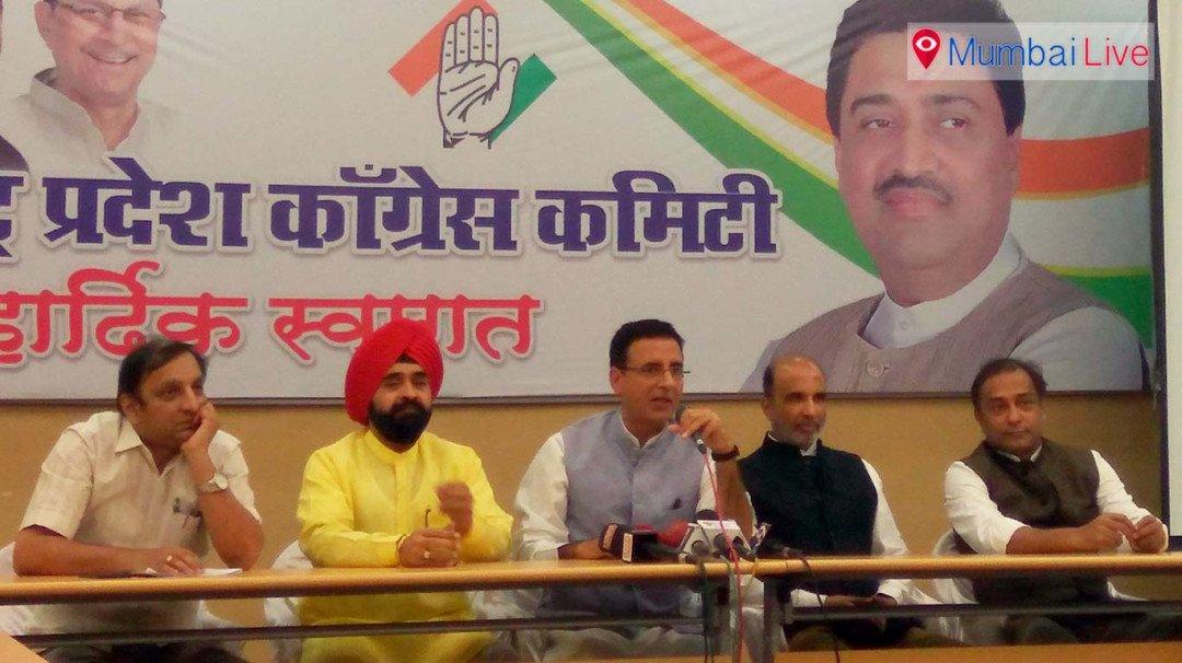 Congress' Surjewala lashes out at BJP, Shiv Sena
