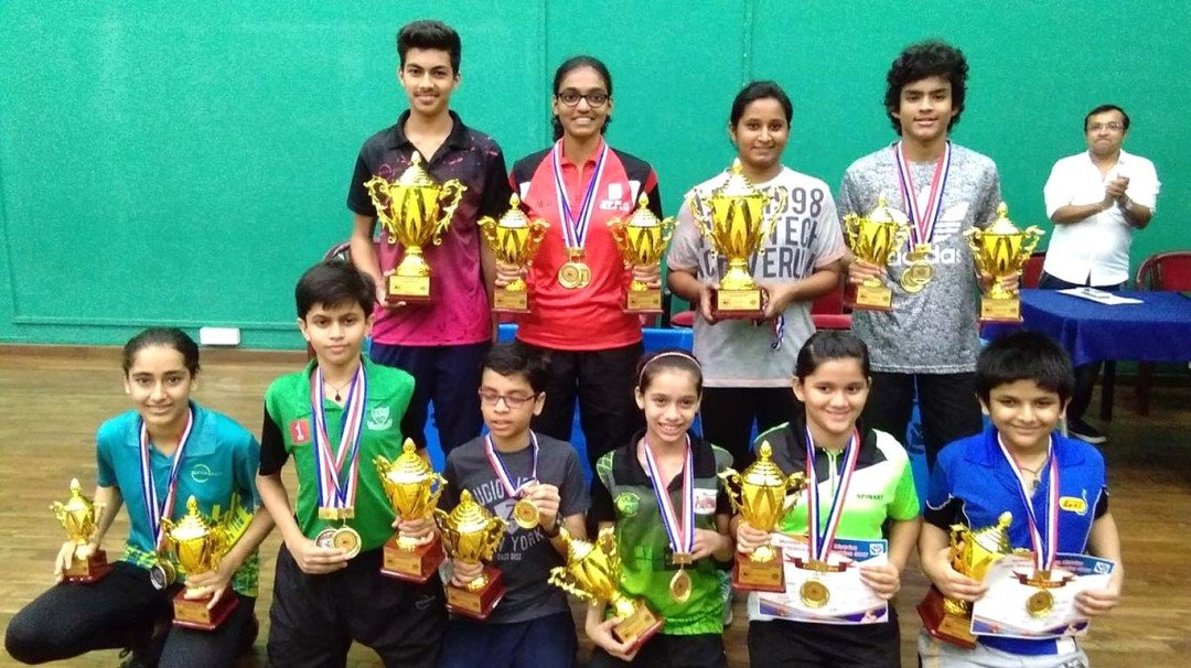 Former International table tennis player Mamta Prabhu wins her second title of the season