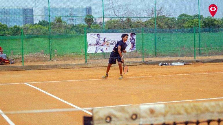 टेनिस स्पर्धेत अधिरीत आवळची आगेकूच