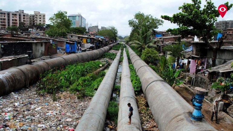 Pipeline bursts near Mahim Creek, water supply in Bandra impacted
