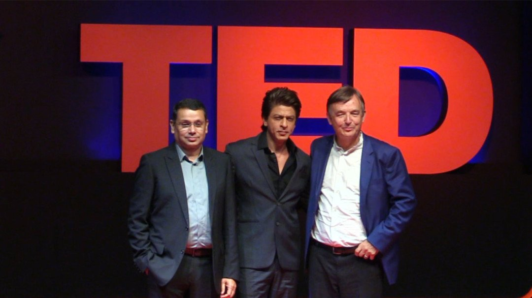 Shah Rukh And Star To Spread Ideas With TED Talks