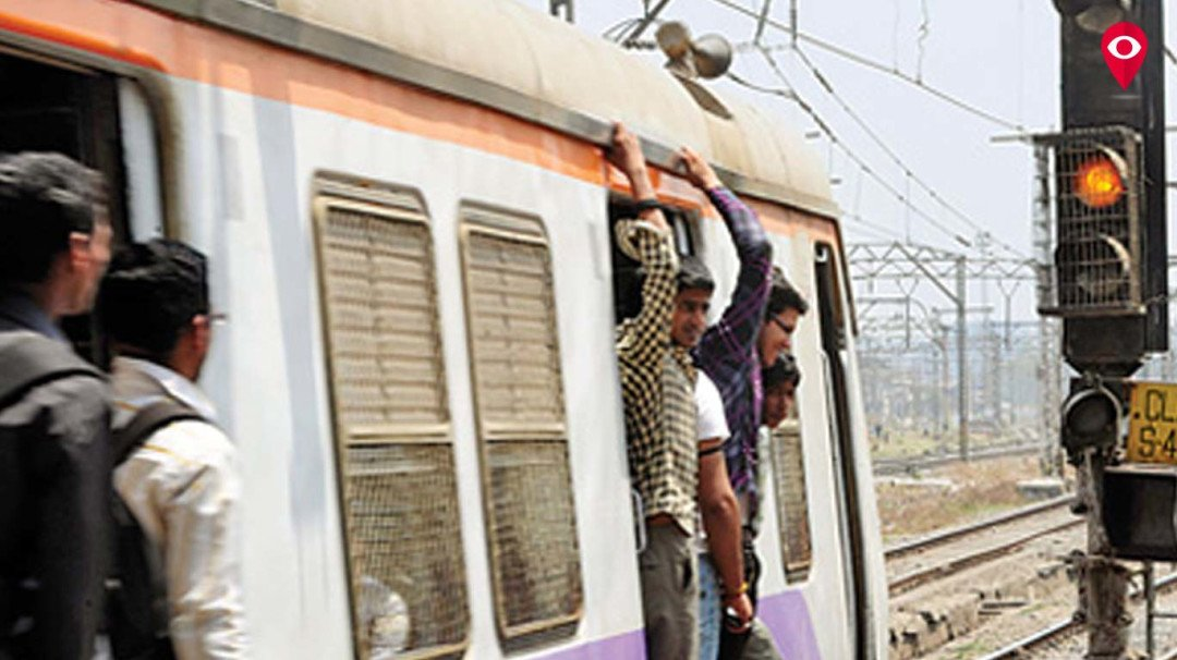 मध्य रेलवे सेवा एक बार फिर लडखड़ाई