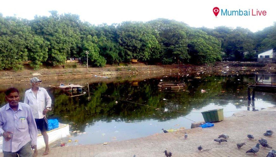 RCF cleans up the Aziz Baug lake