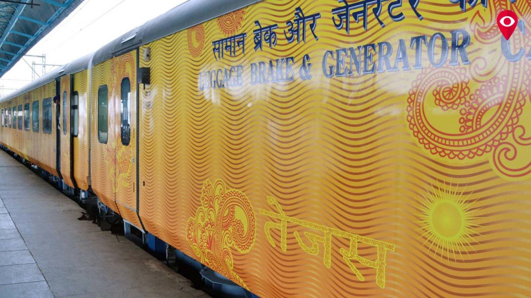 Miscreants break Windows of Tejas Express ahead of inaugural journey from Mumbai