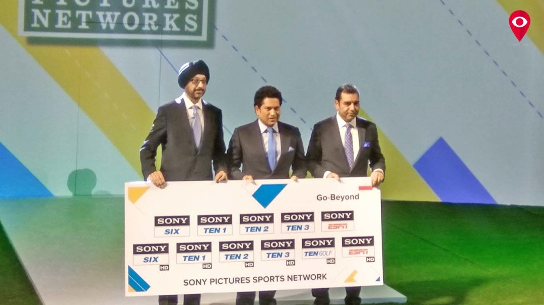 Sony revamps sports channels; names Sachin ambassador