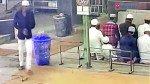 नमाज के दौरान चोरी सीसीटीवी में कैद