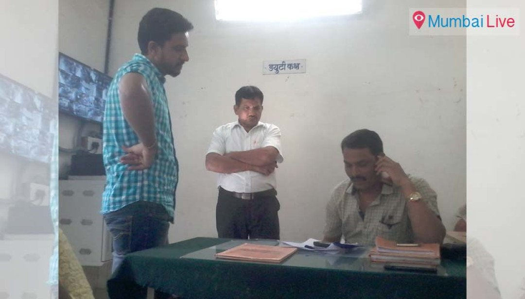 Man held for misbehaving with clerk