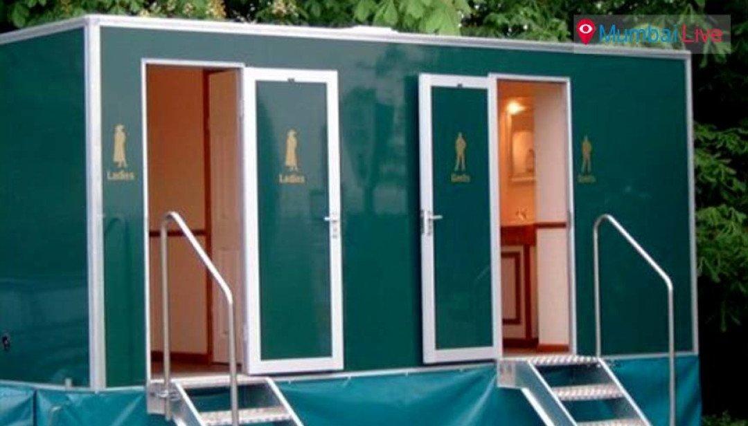 समुंद्री किनारों पर चलता फिरता शौचालय