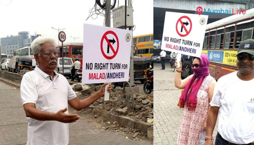 Lokhandwala Residents association solves traffic woes