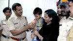बच्चे ने पुलिस को दिखाया रास्ता