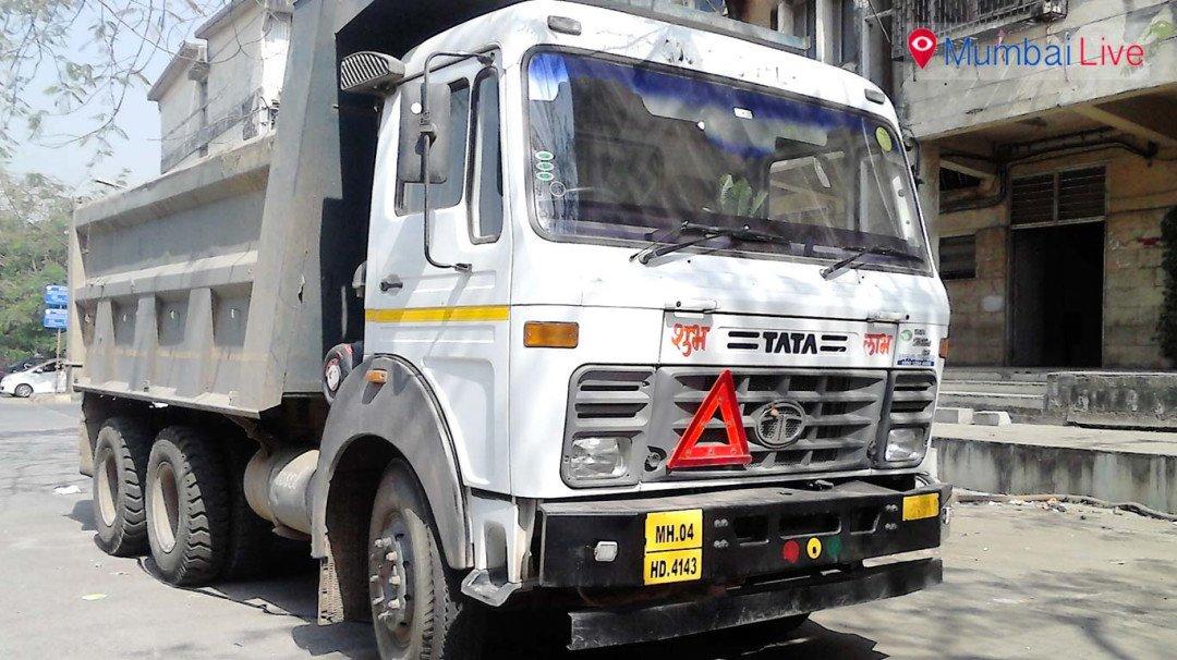ट्रक की टक्कर से बाइक सवार युवक की मौत