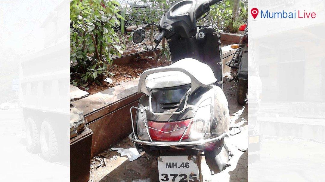 Biker dies in freak accident