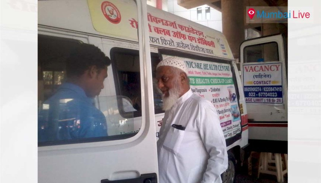 Health check-up on wheels
