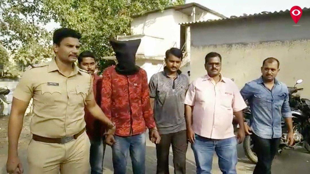 युपीतला आरोपी नाला सोपाऱ्यामध्ये बनला साखळी चोर