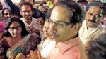Uddhav meets party workers