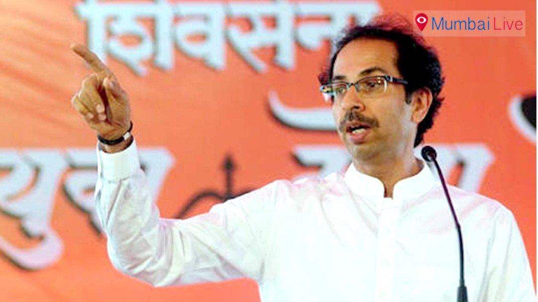 Sena Chief Uddhav Thackeray slams BJP