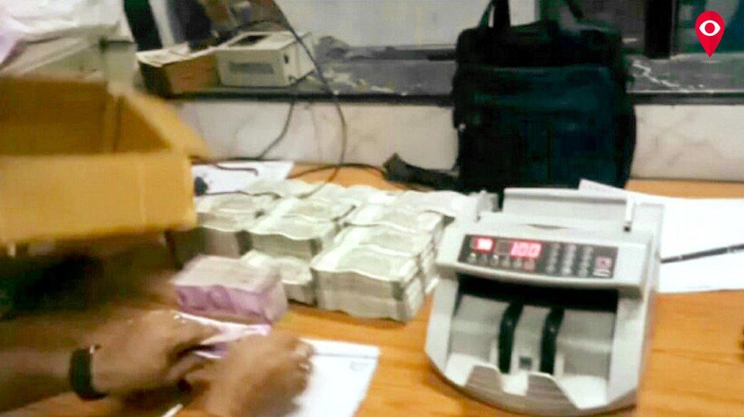 उद्यान एक्सप्रेस से 36 लाख 30 हजार के नए नोट बरामद
