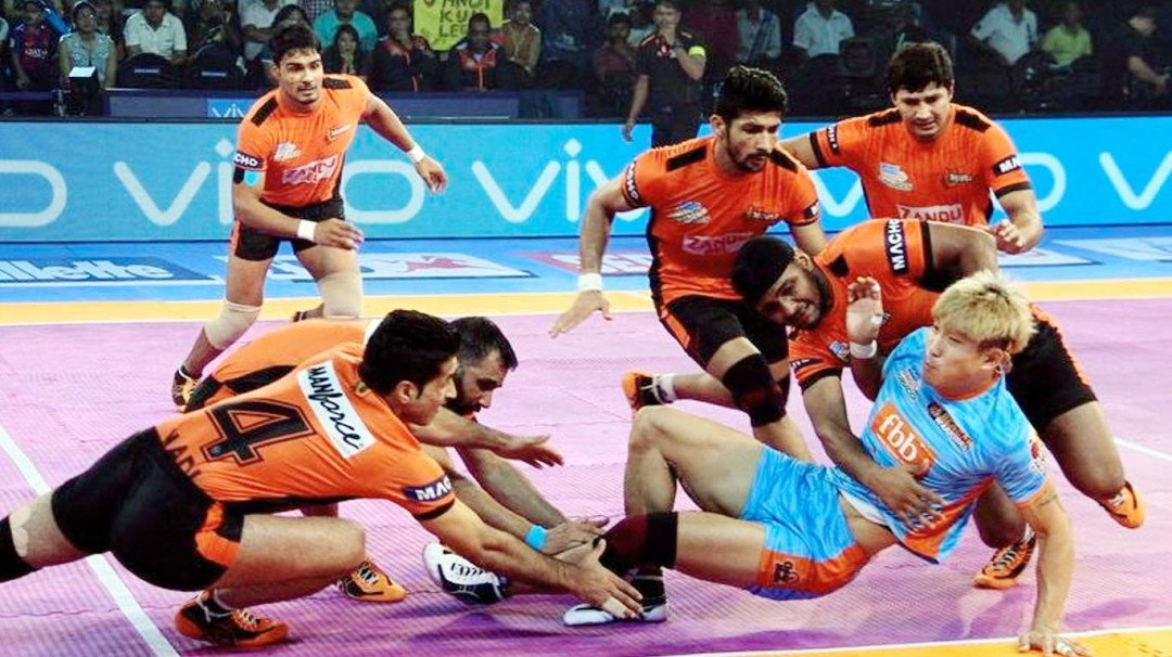 U Mumba thrash Bengal Warriors in Kolkata