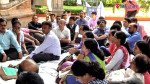 College teachers on hunger strike