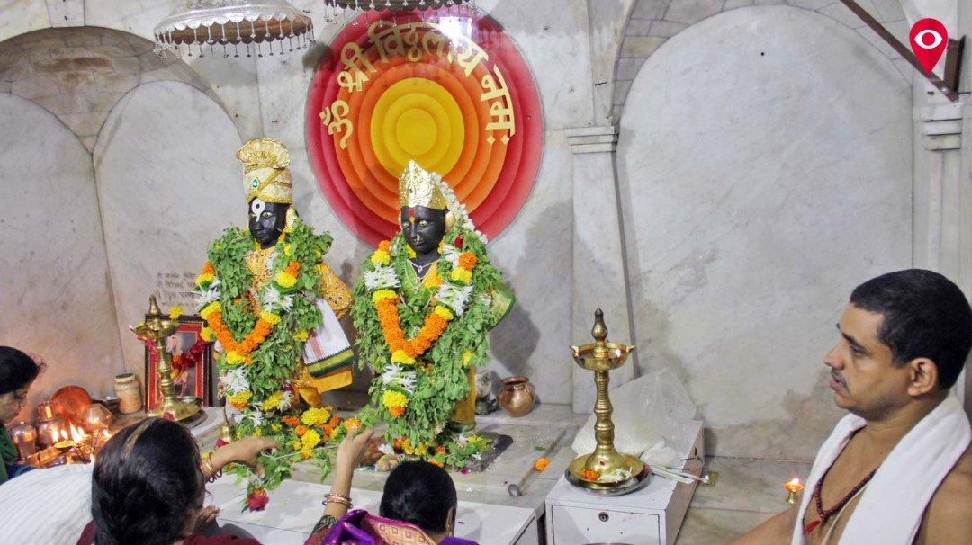 आषाढी एकादशी के मौके पर वडाला विठ्ठल मंदिर तैयार